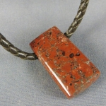 Red Brick Copper Rock Pendant