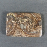 Squirrel Tail Stromatolite Cabochon 4