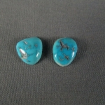 Turquoise Cabochon PAIR Sleeping Beauty