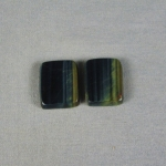 Tiger Eye Variegated Cabochon PAIR TE221
