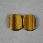Tiger Eye Variegated Cabochon PAIR TE222