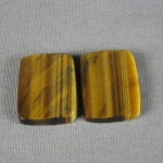 Tiger Eye Variegated Cabochon PAIR TE223