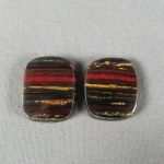 Tiger Iron PAIR Cabochon