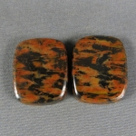 Tiger Tail Jasper Cabochon PAIR 138