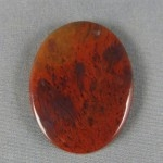 Flame Agate Cabochon