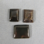 Montana Agate 3 pc set Cabochon
