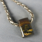 Tiger Iron Rock Pendant