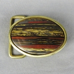 Tiger Iron Belt Buckle