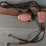 Willow Creek Belt Buckel and Bolo Tie