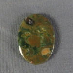 Rainforest Jasper Cabochon