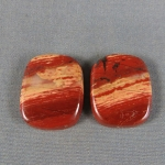 Snakeskin Cabochon PAIR